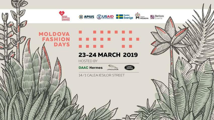 Foto: Cumpără bilete la Moldova Fashion Days SS '19 și află ce ți-au pregătit designerii autohtoni