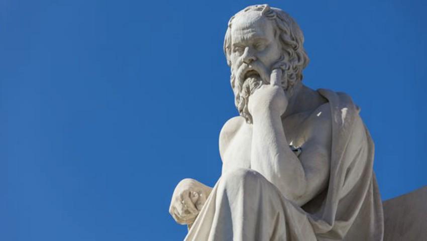 """Foto: Testul ,,celor trei"""" al lui Socrate"""