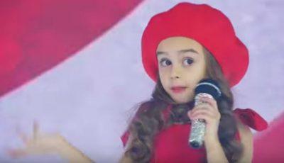 "Kamelia Melnic cântă piesa ,,Te las cu inima"" a Cleopatrei Stratan. Video!"