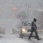 Foto: Ninge în toată țara. Se circulă în condiții de lapoviță