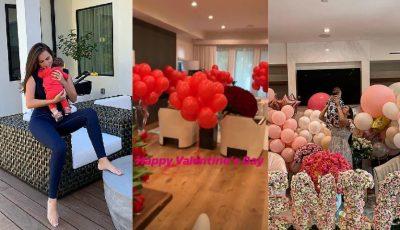 Xenia Deli și fiica sa au fost răsfățate de Valentine's Day! Vezi cum și-a surprins fetele bărbatul casei