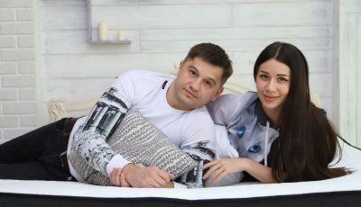 Sergiu Covalschi și Irina Tarasiuc, despre diferența de vârstă în cuplu și cum minus cu minus devine plus