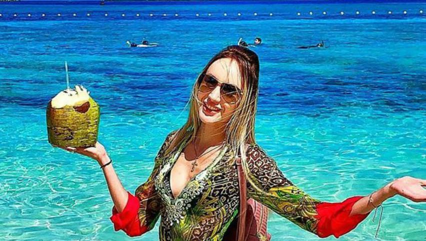 Foto: Vacanță de vis în Bahamas! Kătălina Rusu și soțul ei se relaxează în paradisul vedetelor de la Hollywood