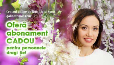 Mesaj de 1 Martie: Galina Tomaș vă urează o primăvară plină de sănătate