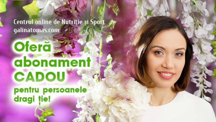 Foto: Mesaj de 1 Martie: Galina Tomaș vă urează o primăvară plină de sănătate