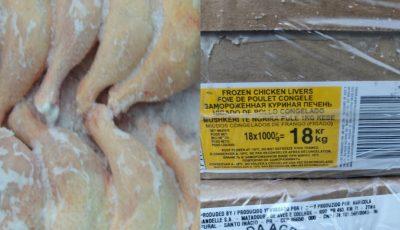 În Moldova este adusă ilegal carne de pui din Brazilia