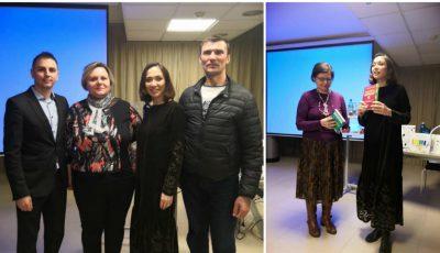 Raport foto și video! Seminar gratuit la Padova, Italia despre cum slăbești sănătos de acasă cu Galina Tomaș