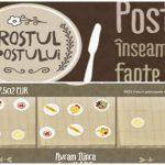"""Foto: Campania ,,Rostul Postului"""" a fost lansată: Donează felurile de mâncare la care poftești copiilor care se culcă flămânzi"""