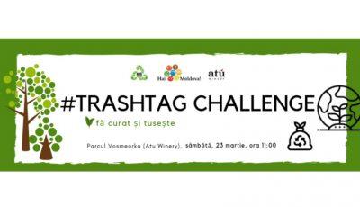 Îți dorești un mediu curat pentru tine și cei din jurul tău? Alătură-te mișcării #trashtag challenge, organizată de echipa Hai Moldova!