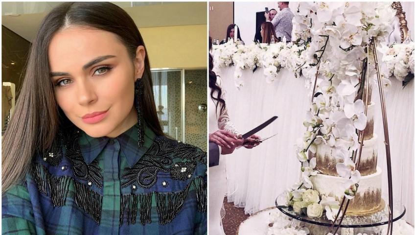 Foto: Sora Xeniei Deli s-a căsătorit! Poze de la nuntă