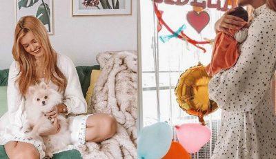 Cristina Gheiceanu a dezvăluit numele fetiței sale