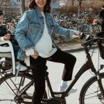 Foto: O bloggeriță de la noi iubește plimbările cu bicicleta în timpul sarcinii