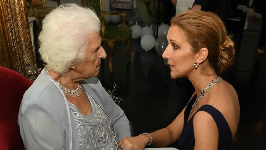 Celine Dion și-a felicitat mama cu ocazia zilei de naștere! Mesajul emoționant al artistei