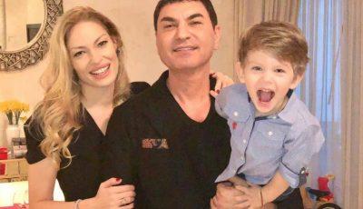 Valentina Pelinel a publicat o imagine emoționantă cu gemenele sale