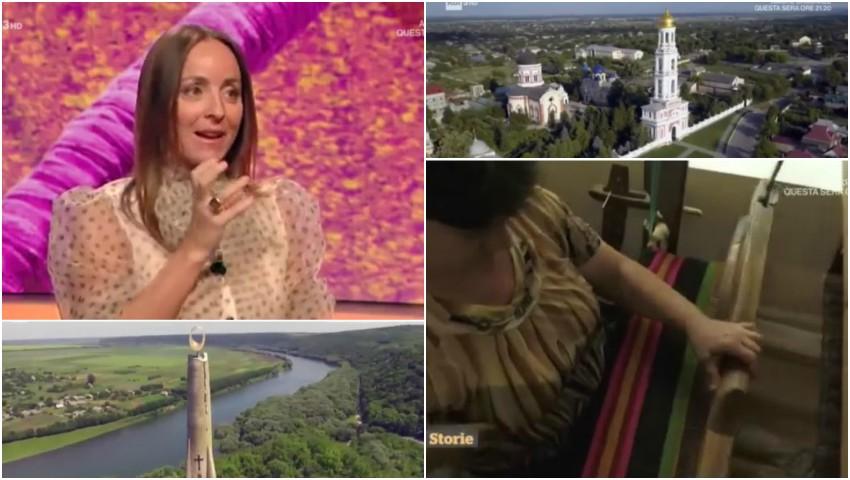 Foto: Reportaj despre Moldova la postul de televiziune italian RAI. Video!