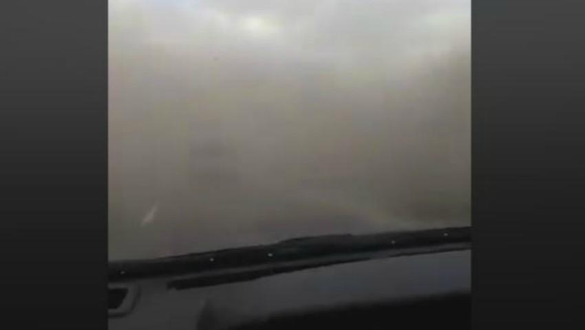 Foto: Așa ceva nu s-a mai văzut în țară. Moldovenii au comparat vântul puternic cu o tornadă