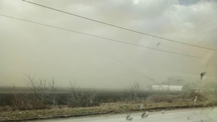 Foto: Cod galben de aer poluat în două localități din Moldova