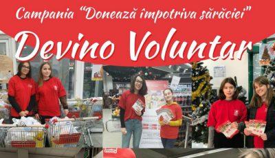 """Alege să fii bun! Devino voluntar în campania de caritate """"Donează împotriva sărăciei"""""""
