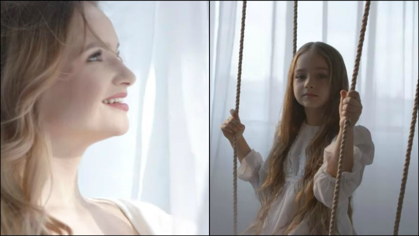 """Foto: Amelia Uzun și Ana Cernicova, într-un emoționant videoclip la piesa ,,Mama""""! Video"""