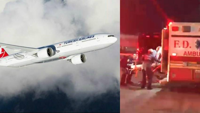 Foto: 30 de pasageri au fost răniţi în turbulenţe, în timpul unui zbor Turkish Airlines spre New York