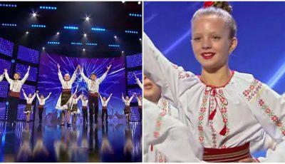 """Video! Copiii ansamblului ,,Ciocârlia"""" din Chișinău au făcut senzație pe scena de la ,,Românii au Talent""""!"""