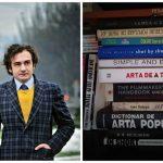 Foto: Cărțile pe care le citea Viorel Mardare. Ce spun ele?