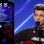 """Foto: Un tânăr din Chișinău a interpretat o piesă de la """"The Motans"""" și a obținut patru de DA la ,,Românii au Talent"""""""