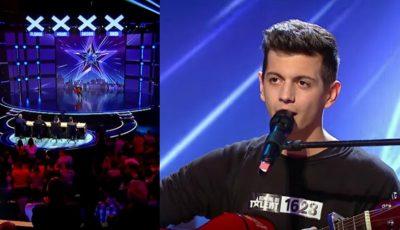 """Un tânăr din Chișinău a interpretat o piesă de la """"The Motans"""" și a obținut patru de DA la ,,Românii au Talent"""""""
