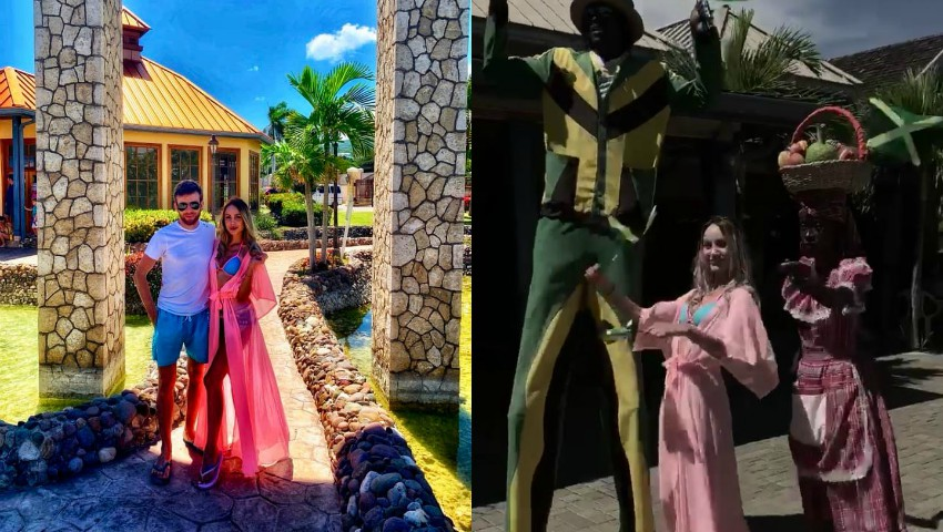 Foto: Kătălina Rusu și soțul ei își continuă vacanța de vis! Cuplul a ajuns în Jamaica