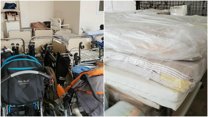 Foto: Spitalul Clinic Municipal nr. 1 a primit un lot de ajutor umanitar
