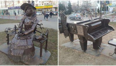 În Chișinău a apărut o nouă sculptură!