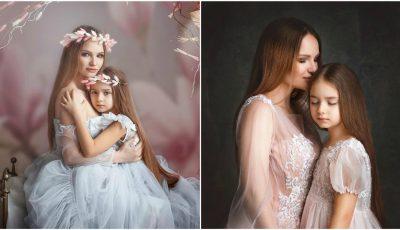 Dragostea pură mamă-fiică! Ana Cernicova și Amelia, protagonistele unei ședințe foto emoționante