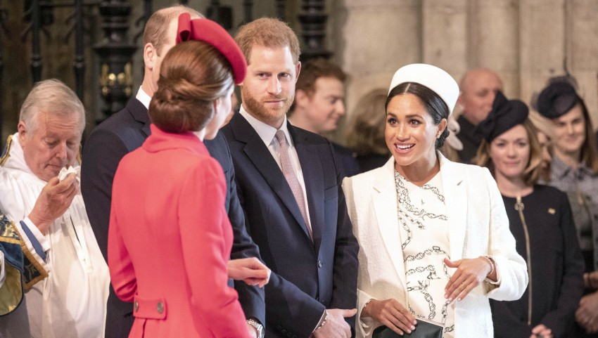 Foto: Kate Middleton și Meghan Markle au fost în centrul atenţiei la slujba de la Westminster Abbey!