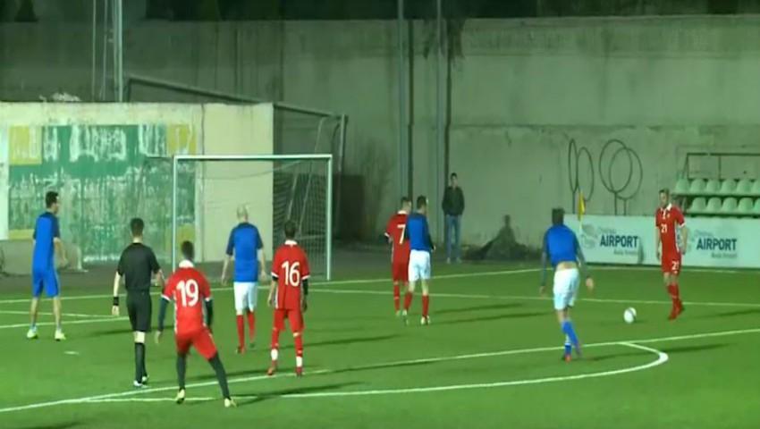 Foto: Scor 7:3. Suporterii moldoveni i-au învins pe cei francezi în cadrul unui meci amical
