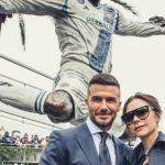 Foto: O statuie de bronz a lui David Beckham a fost instalată în fața clubului L. A. Galaxy
