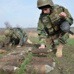 Foto: Un bărbat din Ștefan Vodă a găsit 234 de obiecte explozive în timp ce ara ogorul
