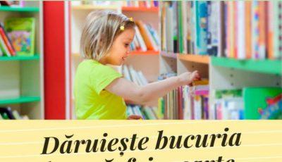 """Fundaţia Caritas Moldova lansează campania """"Dăruiește bucuria de a răsfoi o carte"""". Fii și tu parte a campaniei!"""