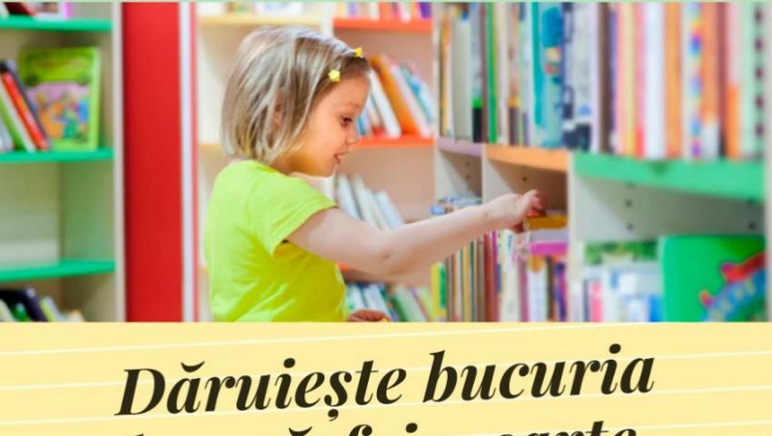 """Foto: Fundaţia Caritas Moldova lansează campania """"Dăruiește bucuria de a răsfoi o carte"""". Fii și tu parte a campaniei!"""