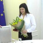 Foto: Luptătoarea Anastasia Nichita a primit în dar un apartament din partea statului
