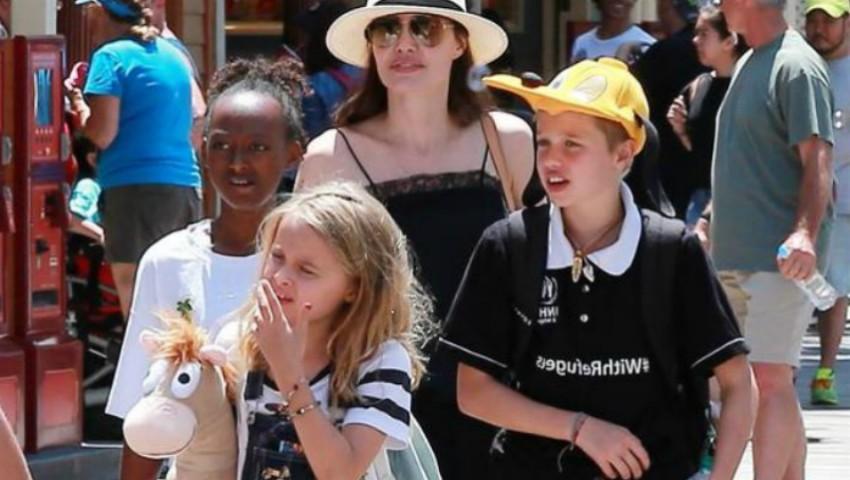 Foto: Fiica cea mică a Angelinei Jolie se transformă și ea într-un băiețel. Iată cum a apărut pe covorul roșu