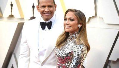 Jennifer Lopez şi Alex Rodriguez s-au logodit. Cum arată inelul fabulos!