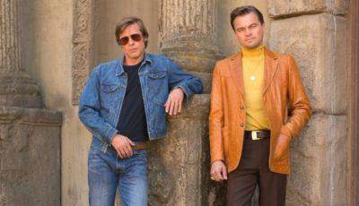 Video! A apărut primul trailer al celui mai nou film regizat de Quentin Tarantino, cu DiCaprio și Brad Pitt