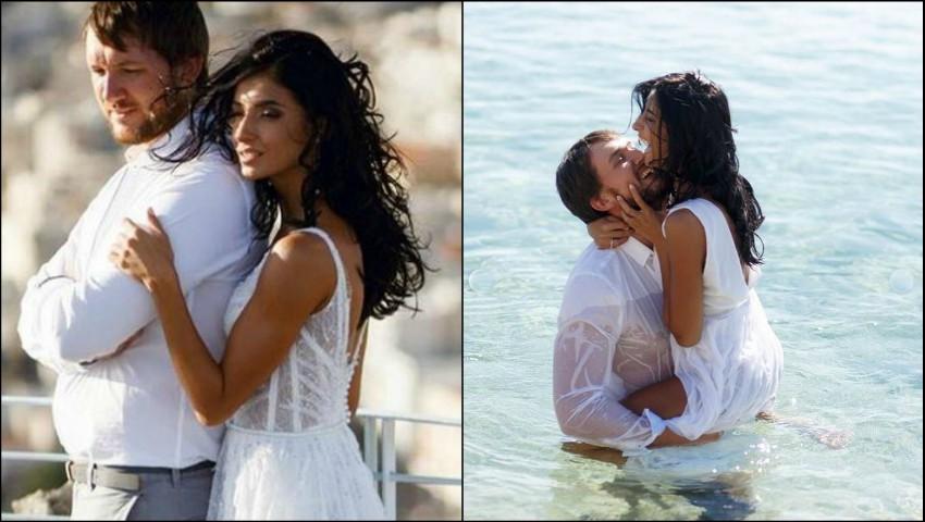 Foto: Inesa Voscoboinic a publicat mai multe poze de la nunta din Grecia!