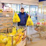 """Foto: Peste 50 de tone de produse alimentare au fost donate într-o singură zi, în cadrul campaniei """"Masa Bucuriei"""""""