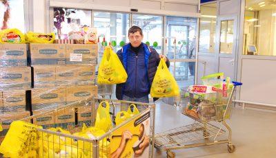 """Peste 50 de tone de produse alimentare au fost donate într-o singură zi, în cadrul campaniei """"Masa Bucuriei"""""""