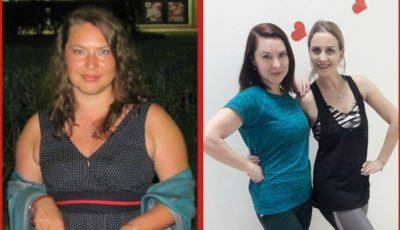A dat jos 12 kg, timp de 12 săptămâni, și continuă să-și remodeleze silueta!