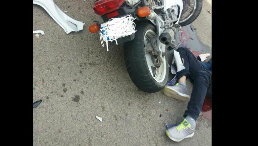 Foto: Un motociclist de 34 de ani a decedat pe loc la Cahul