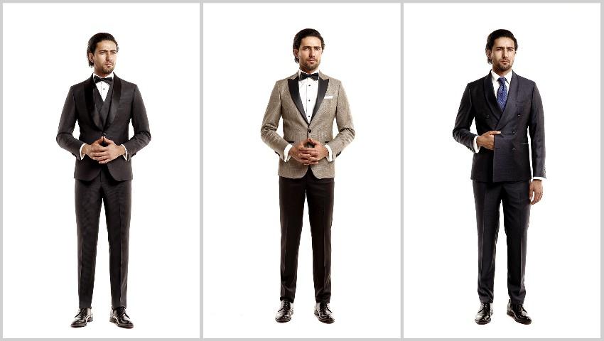 Foto: Smoking-ul – alegerea vestimentară preferată a mirilor pentru ziua nunții lor!