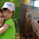 Foto: La doar 33 de ani, o tânără mamă din Cimișlia luptă cu cancerul. Cristina vrea să-și vadă fetița mare!