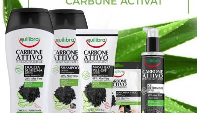 Descoperă noua gamă de produse Equilibra cu Cărbune Activat!